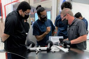 """The event, """"Trades Experience Day"""", was part of Fix Network's mission to promote the aftermarket industry among the new generation of students."""